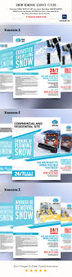 snow removal service flyers by eclipse artisan graphicriver snow removal service flyers corporate flyers