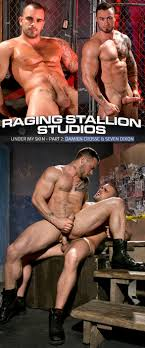 Raging Stallion Damien Crosse fucks Seven Dixon in Under My Skin. Raging Stallion Damien Crosse fucks Seven Dixon in Under My Skin.