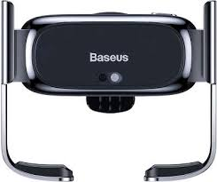 Автодержатель <b>Baseus Mini Electric</b> Car Holder, Black [SUHW01-01]