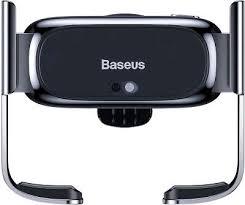 Автодержатель <b>Baseus Mini Electric</b> Car Holder, Black [SUHW01-01]