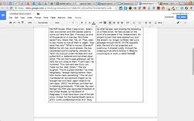 multiple columns in google docs multiple columns in google docs