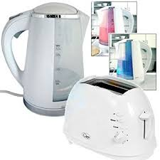 Akai Kitchen Appliance Set with Cordless Kettle and <b>2</b> Slice <b>Toaster</b> ...