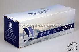 HP <b>CF401A</b> - <b>картридж</b> совместимый | HP 201A Cyan/Голубой