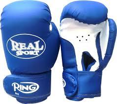 <b>Перчатки</b> боксерские <b>REALSPORT</b> 12 унций, синий — купить в ...