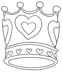 Small Picture Crown of Love Coloring Pages NetArt