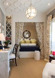 traditional home office turned into a gorgeous guestroom design robert frank carolyn reyes bed office