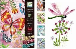 """<b>Раскраска</b> """"<b>Блестящие бабочки</b>"""" <b>Djeco</b> 09503 купить в Минске, цена"""