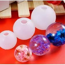 DIY <b>Epoxy Mold</b> Necklace Pendant Star ball <b>Silicone Mould Resin</b> ...