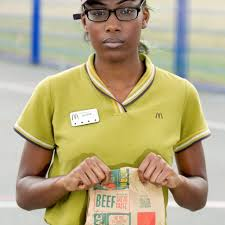 mcdonald s worker refused shifts because she s black divine was working there to save up to go to uni