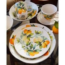 Купить <b>Тарелка салатная</b> Лимоны от <b>Julia Vysotskaya</b> арт. JV3 ...