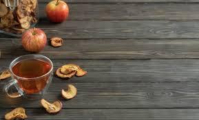 Домашнее сушеное <b>органическое яблоко</b> нарезанное ...