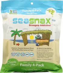 Seasnax Premium Roasted Seaweed Family 4-Pack, 2.16 oz - Kroger