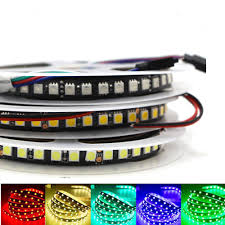 RGB <b>LED</b> Strip light 1m <b>5m 120LEDs</b>/<b>m</b> Waterproof 5050 SMD 600 ...