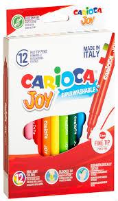 """<b>Фломастеры</b> """"<b>Carioca</b> Joy"""" (12 цветов) : купить в Минске в ..."""