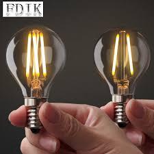 <b>E27 E14</b> 220V <b>Edison</b> Bulb <b>Vintage</b> Warm White LED Filament ...