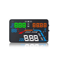 2019 <b>GEYIREN</b> 5.5'' <b>OBDII</b> Car HUD <b>OBD2</b> Port Head Up Display ...