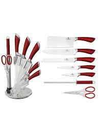 51% BERLINGERHAUS <b>Набор ножей</b> на подставке, 8 <b>предметов</b>