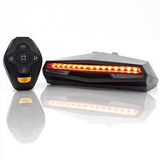 Ampulla Oricycle Rechargeable <b>Bike</b> Tail <b>Light</b> LED - <b>Remote</b>