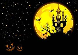 <b>Halloween</b> Background With <b>Bat</b>, <b>Pumpkin</b>, Castle, <b>Element</b> For ...