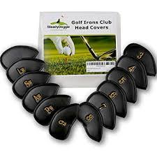 Golf Iron Covers of Durable <b>Strong</b> & <b>Waterproof</b> PU Leather ...