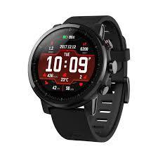 Умные часы Xiaomi <b>AMAZFIT Stratos</b> (<b>черный</b>) — купить в ...