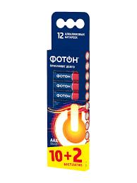 <b>Батарейки ФОТОН</b> ААA / <b>LR03</b> BP12 12 шт <b>Фотон</b> 3373496 в ...