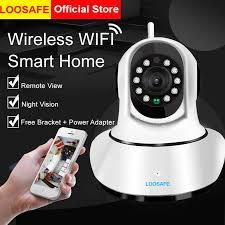 <b>LOOSAFE WIFI</b> IP Camera,<b>1080P HD Wireless</b> Security Home ...