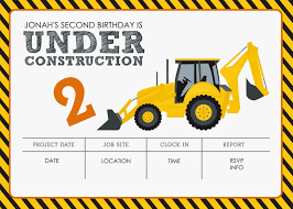 construction themed birthday party printables jacqueline construction themed birthday party printables jacqueline dziadosz invitations design
