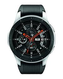 Silver Samsung Galaxy <b>Watch</b> - 46mm <b>Bluetooth</b> | Samsung US