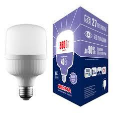 Светодиодная <b>лампа VOLPE LED</b>-<b>M80</b>-<b>40W</b>/<b>6500K</b>/<b>E27</b>/<b>FR</b>/<b>NR</b> ...