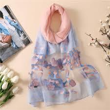 2019 <b>Women</b> Scarf Summer Silk Feeling Shawls <b>Hijabs Lady</b> Wraps ...