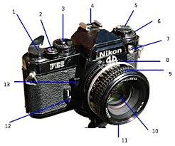 photography tutorials  slr camera diagram slr camera