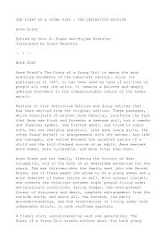 essay on anne frank narrative essay on anne frankquot diary of the diary of anne frank