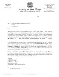 example of child support letter child support review letter format for child support child support agreement letter example