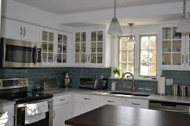 stained kitchen cabinets decor