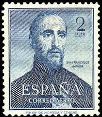 Sello: San Francisco Javier (España) (Sainthood) Mi:ES 1010,Edi:ES 1118 - San-Francisco-Javier
