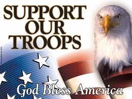 Image result for pictures support our troops