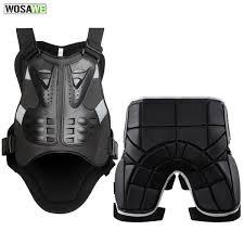 2019 <b>WOSAWE Motorcycle Jacket</b> Body Protector+Shorts Pants ...