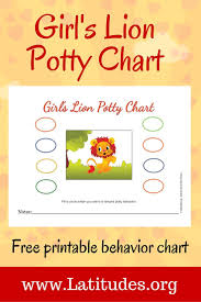 17 best images about potty training charts charts potty training chart girl s lion