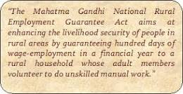 Mahatma Gandhi National Rural Employment Gurantee Act
