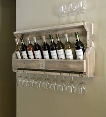ideas wall shelf hooks: full size of  sof brown rustic botle wine and glass shelving wall mounted beige stained wall hanging rustic goblet glass wine and glass holder casual walnut wine rack for kitchen