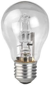 <b>Лампа галогенная ЭРА</b> Hal-<b>A55</b>-<b>50W</b>-<b>230V</b>-<b>E27</b>-<b>CL</b>