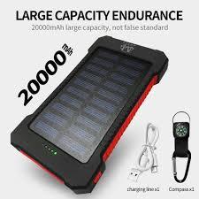 Generic 20000 MAH Fast <b>Charging Dual USB</b> Portable Power ...
