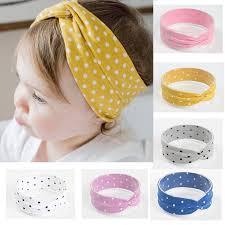 <b>Хлопок Baby Girl Повязки</b> Cute Dot Baby Волос Band Baby Baby ...