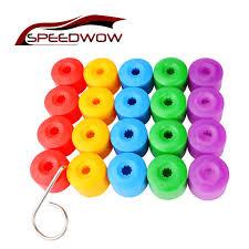 SPEEDWOW <b>20pcs</b> Car Wheel Hub Screw Cover <b>17mm Wheel Nut</b> ...