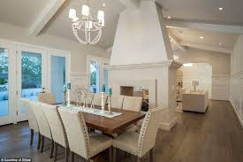 style dining room paradise valley arizona love: the  square foot scottsdale home features an open layout between the dining area