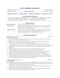 cover letter sample resume for computer programmer sample resume cover letter programmer analyst resume samples visualcv database programmer sample java developer javasample resume for computer