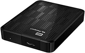 <b>WD My Passport</b> 1TB Portable Hard Drive - Black: Amazon.co.uk ...