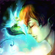 Re: Campanilla y Peter pan - something_magical___peter_pan_by_angeliciouso3o-d48wjel