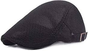 <b>Men Breathable mesh Summer</b> hat Newsboy Beret Ivy Cap Cabbie ...